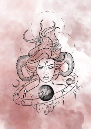 Aries Goddess